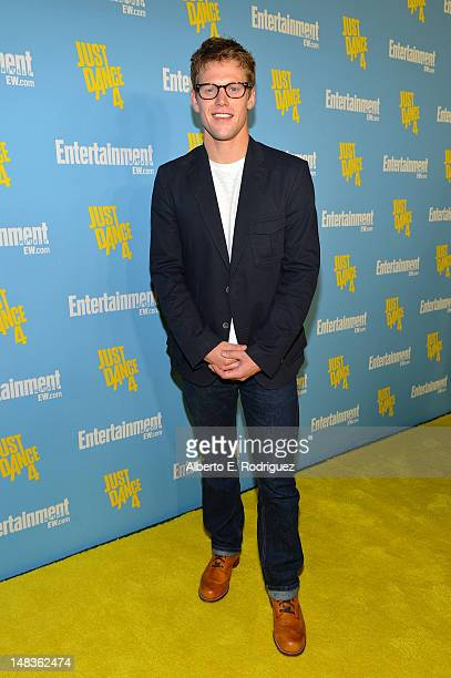 Actor Zach Roerig attends Entertainment Weekly's 6th Annual ComicCon Celebration sponsored by Just Dance 4 held at the Hard Rock Hotel San Diego on...