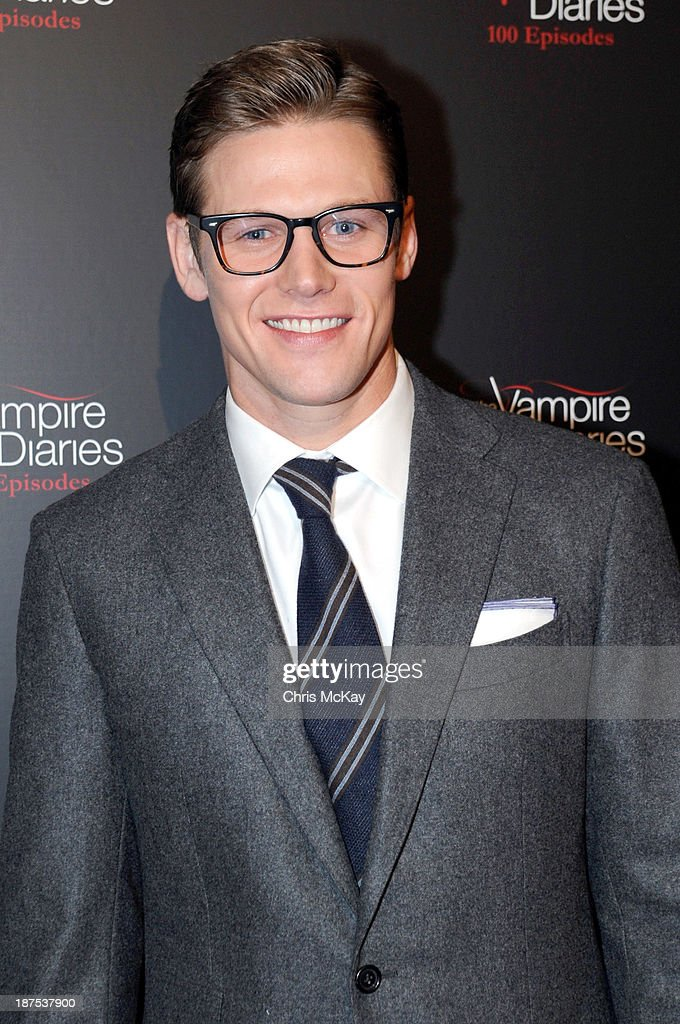 Actor <a gi-track='captionPersonalityLinkClicked' href=/galleries/search?phrase=Zach+Roerig&family=editorial&specificpeople=4859108 ng-click='$event.stopPropagation()'>Zach Roerig</a> attends The Vampire Diaries 100th Episode Celebration on November 9, 2013 in Atlanta, Georgia.