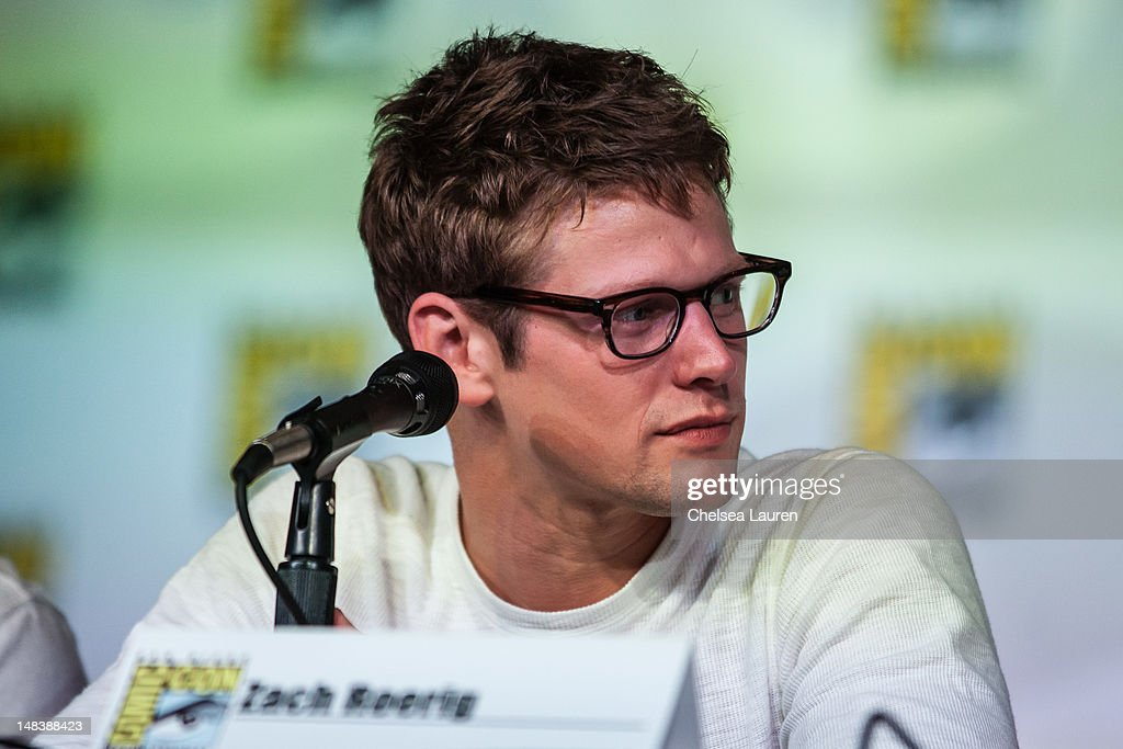 Actor Zach Roerig attends the 'Vampire Diaries' panel at San Diego Convention Center on July 14, 2012 in San Diego, California.