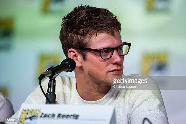 Actor Zach Roerig attends the 'Vampire Diaries' panel at San Diego Convention Center on July 14 2012 in San Diego California