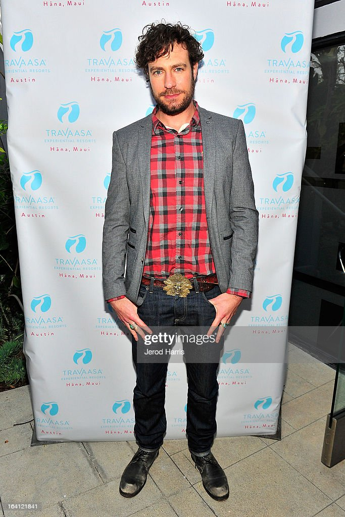 Actor Zach Selwyn attends Travaasa Resorts official LA experience event at Kinara Spa on March 19, 2013 in Los Angeles, California.