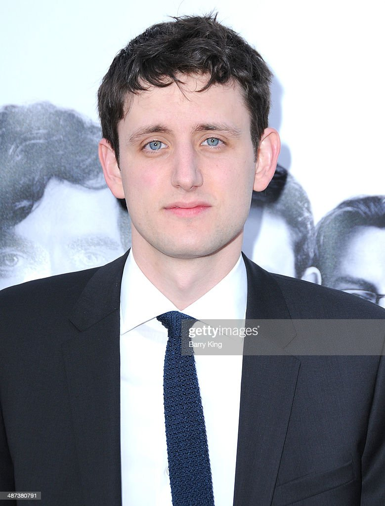 Actor <a gi-track='captionPersonalityLinkClicked' href=/galleries/search?phrase=Zach+Woods&family=editorial&specificpeople=5831373 ng-click='$event.stopPropagation()'>Zach Woods</a> arrives at the premiere of 'Silicon Valley' on April 3, 2014 at Paramount Studios in Hollywood, California.