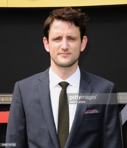 Actor Zach Woods attends the premiere of 'The LEGO Ninjago Movie' at Regency Village Theatre on September 16 2017 in Westwood California