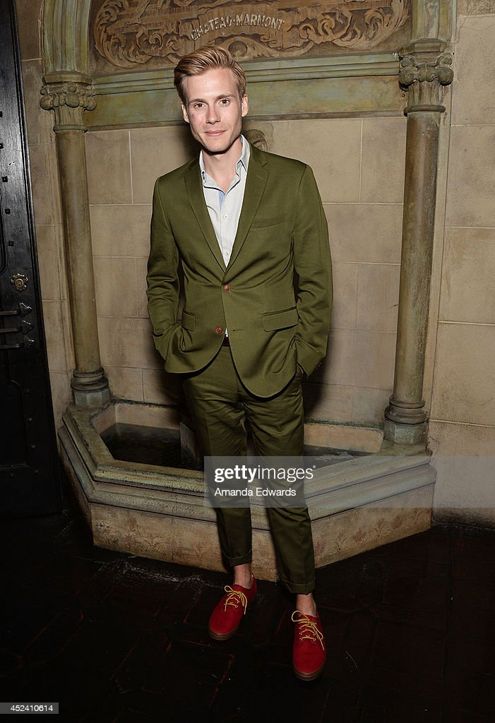 Actor Zachary Booth arrives at the Water's End Productions and Gran Via Productions Film 'Last Weekend' cast dinner at Chateau Marmont on July 19, 2014 in Los Angeles, California.