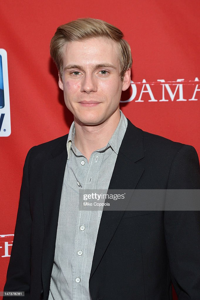 Actor Zachary Booth attends The DIRECTV Premiere event for the fifth and Final Season of 'Damages' at The Oak Room on June 28, 2012 in New York City.