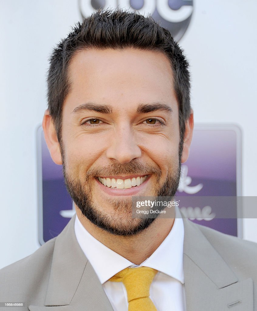 Actor <a gi-track='captionPersonalityLinkClicked' href=/galleries/search?phrase=Zachary+Levi&family=editorial&specificpeople=242766 ng-click='$event.stopPropagation()'>Zachary Levi</a> arrives at Disney ABC Television and the Hallmark Hall Of Fame's premiere of 'Remembering Sunday' at Fox Studio Lot on April 17, 2013 in Century City, California.