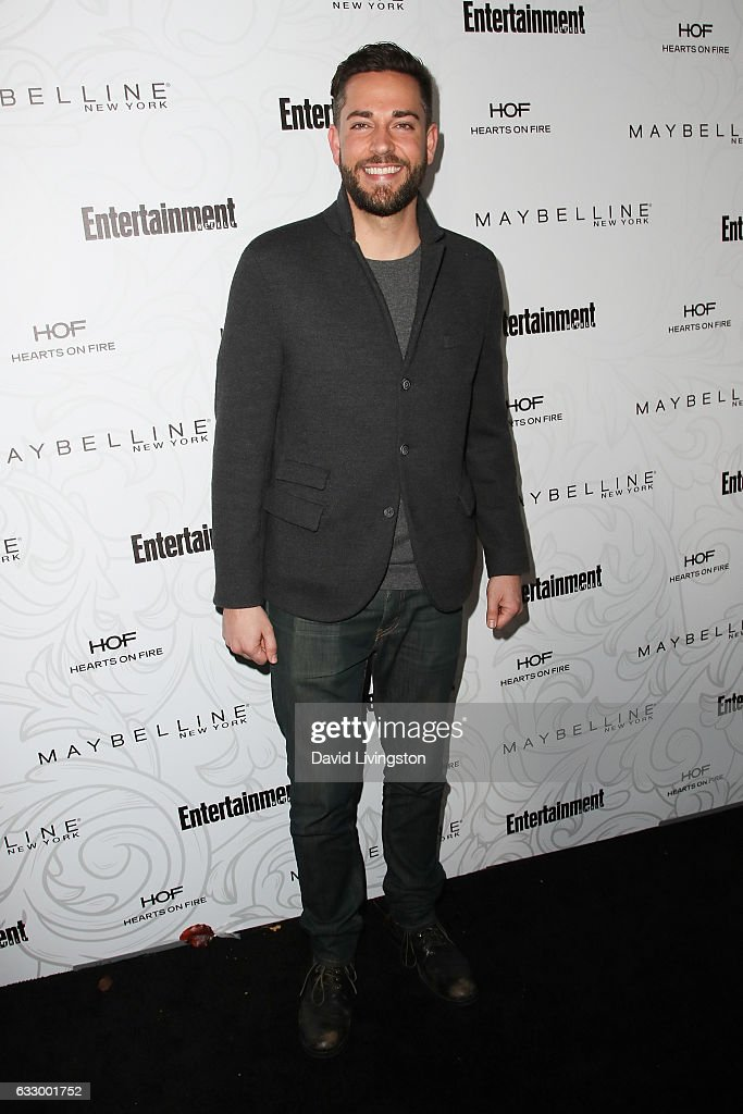 Actor Zachary Levi arrives at the Entertainment Weekly celebration honoring nominees for The Screen Actors Guild Awards at the Chateau Marmont on January 28, 2017 in Los Angeles, California.