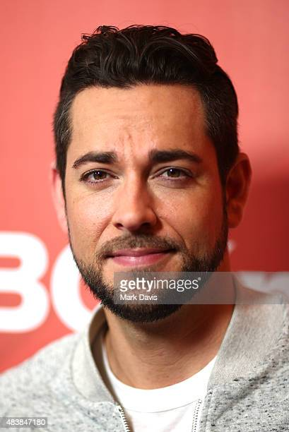 Actor Zachary Levi arrives at the NBCUniversal 2015 Summer Press Tour at the Beverly Hilton on August 13 2015 in Beverly Hills California