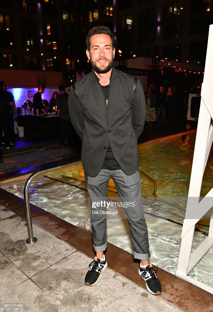 Actor Zachary Levi at Entertainment Weekly's annual Comic-Con party in celebration of Comic-Con 2017 at Float at Hard Rock Hotel San Diego on July 22, 2017 in San Diego, California.
