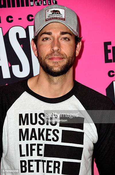 Actor Zachary Levi attends Entertainment Weekly's ComicCon Bash held at Float Hard Rock Hotel San Diego on July 23 2016 in San Diego California...