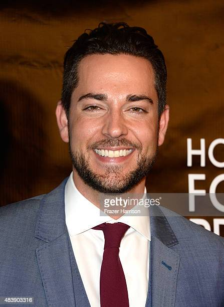 Actor Zachary Levi attends HFPA Annual Grants Banquet at the Beverly Wilshire Four Seasons Hotel on August 13 2015 in Beverly Hills California