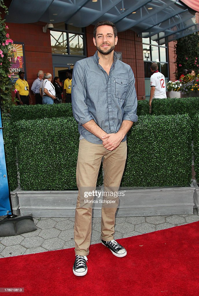 Actor <a gi-track='captionPersonalityLinkClicked' href=/galleries/search?phrase=Zachary+Levi&family=editorial&specificpeople=242766 ng-click='$event.stopPropagation()'>Zachary Levi</a> attends the 13th Annual USTA Serves Opening Night Gala at USTA Billie Jean King National Tennis Center on August 26, 2013 in New York City.