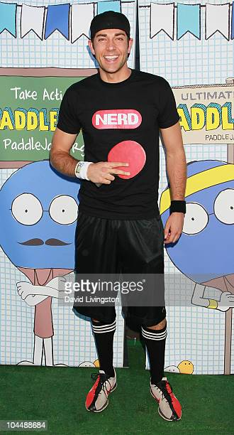 Actor Zachary Levi attends the 2010 PaddleJam at the Music Box Theatre on September 26 2010 in Hollywood California