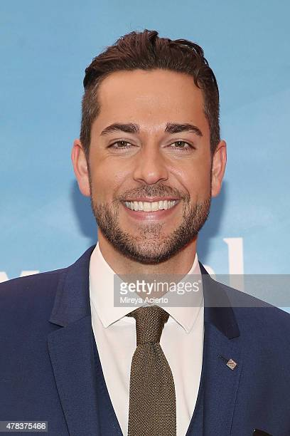 Actor Zachary Levi attends the 2015 NBC New York Summer Press Day at Four Seasons Hotel New York on June 24 2015 in New York City