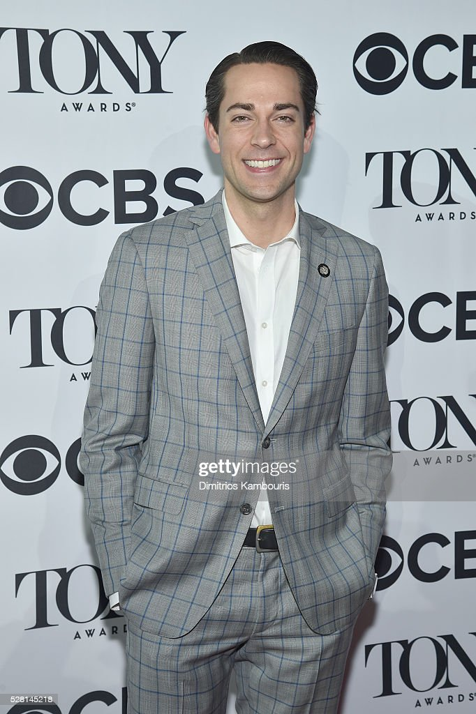 Actor <a gi-track='captionPersonalityLinkClicked' href=/galleries/search?phrase=Zachary+Levi&family=editorial&specificpeople=242766 ng-click='$event.stopPropagation()'>Zachary Levi</a> attends the 2016 Tony Awards Meet The Nominees Press Reception on May 4, 2016 in New York City.