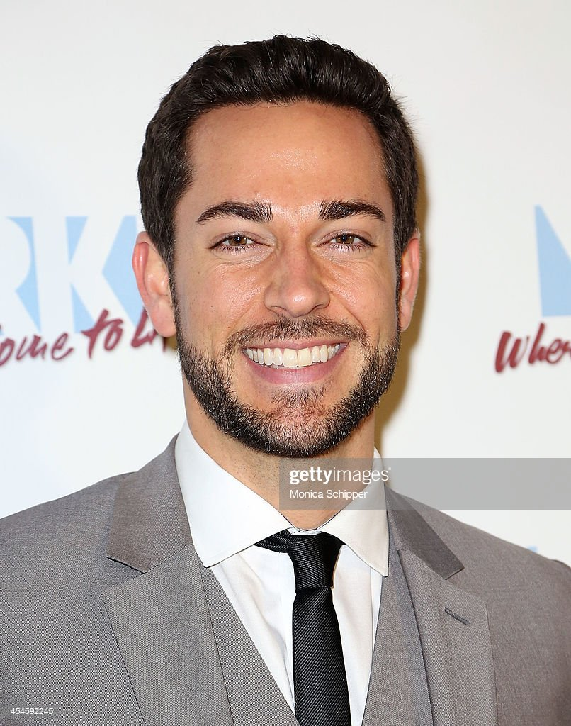 Actor <a gi-track='captionPersonalityLinkClicked' href=/galleries/search?phrase=Zachary+Levi&family=editorial&specificpeople=242766 ng-click='$event.stopPropagation()'>Zachary Levi</a> attends the 22nd annual Oscar Hammerstein Award gala at The Hudson Theatre on December 9, 2013 in New York City.