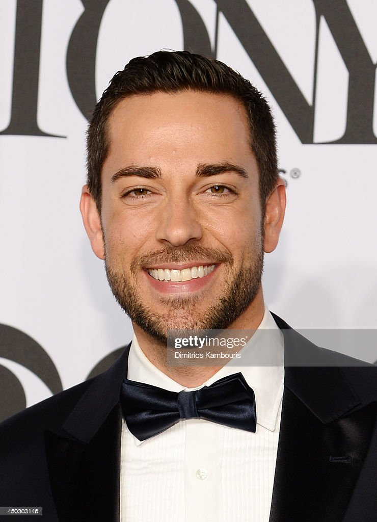 Actor <a gi-track='captionPersonalityLinkClicked' href=/galleries/search?phrase=Zachary+Levi&family=editorial&specificpeople=242766 ng-click='$event.stopPropagation()'>Zachary Levi</a> attends the 68th Annual Tony Awards at Radio City Music Hall on June 8, 2014 in New York City.
