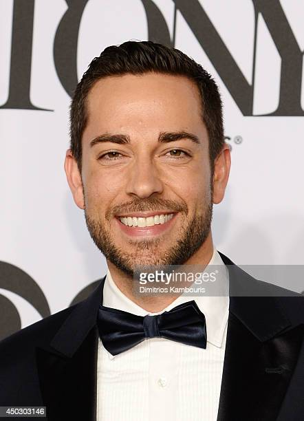 Actor Zachary Levi attends the 68th Annual Tony Awards at Radio City Music Hall on June 8 2014 in New York City