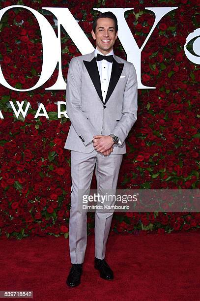 Actor Zachary Levi attends the 70th Annual Tony Awards at The Beacon Theatre on June 12 2016 in New York City