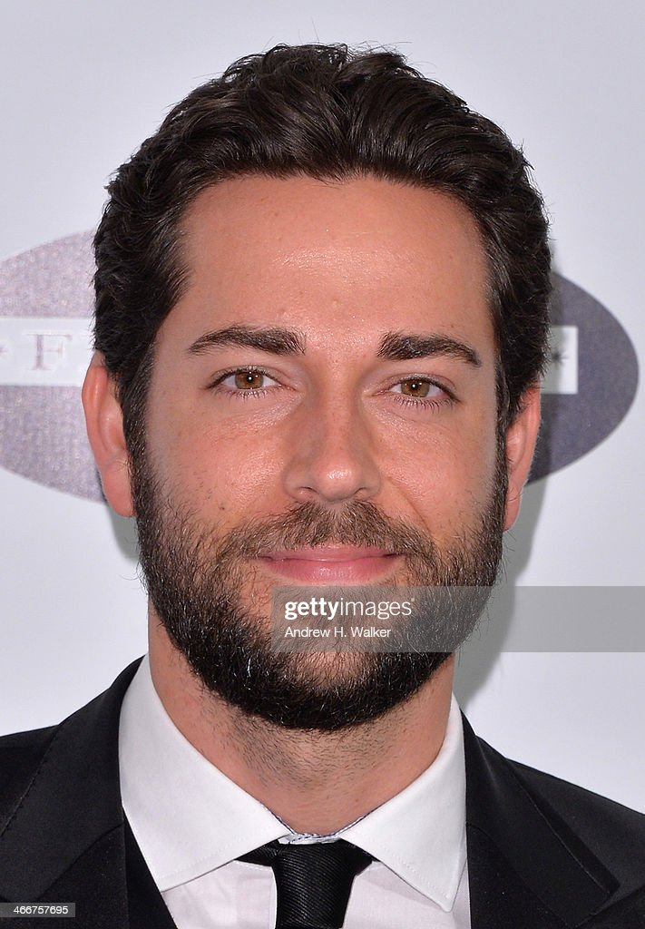 Actor <a gi-track='captionPersonalityLinkClicked' href=/galleries/search?phrase=Zachary+Levi&family=editorial&specificpeople=242766 ng-click='$event.stopPropagation()'>Zachary Levi</a> attends The Drama League's 30th Annual Musical Celebration of Broadway honoring Neil Patrick Harris at The Pierre Hotel on February 3, 2014 in New York City.