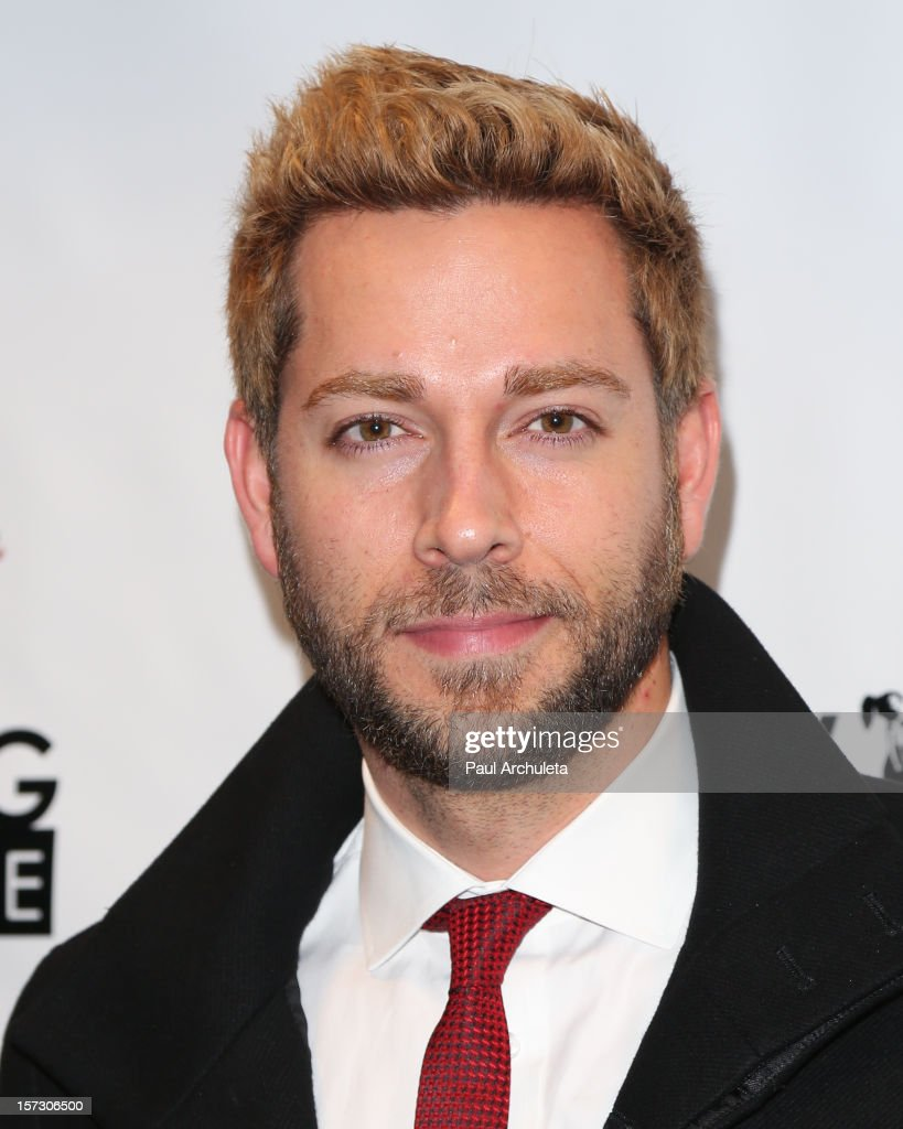 Actor <a gi-track='captionPersonalityLinkClicked' href=/galleries/search?phrase=Zachary+Levi&family=editorial&specificpeople=242766 ng-click='$event.stopPropagation()'>Zachary Levi</a> attends the 'Hope...Pass It On' Gala at the Sofitel Hotel on December 1, 2012 in Los Angeles, California.
