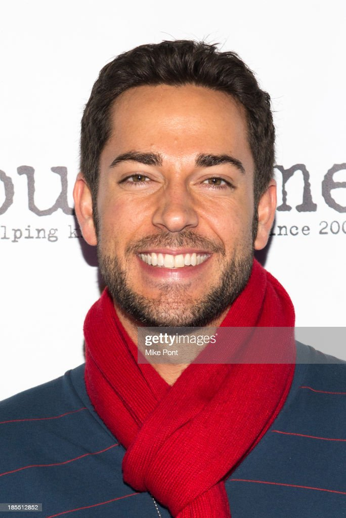 Actor <a gi-track='captionPersonalityLinkClicked' href=/galleries/search?phrase=Zachary+Levi&family=editorial&specificpeople=242766 ng-click='$event.stopPropagation()'>Zachary Levi</a> attends the Paul Rudd 2nd Annual All-Star Bowling Benefit at Lucky Strike on October 21, 2013 in New York City.