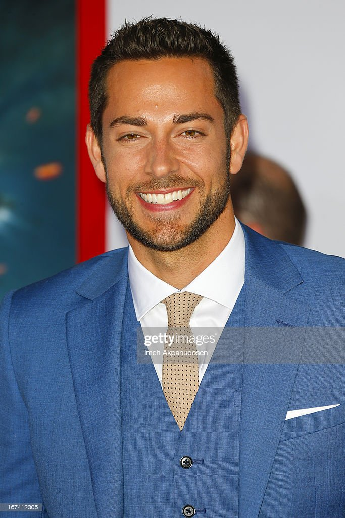 Actor Zachary Levi attends the premiere of Walt Disney Pictures' 'Iron Man 3' at the El Capitan Theatre on April 24, 2013 in Hollywood, California.