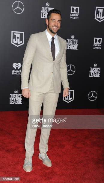 Actor Zachary Levi attends the premiere of Warner Bros Pictures' 'Justice League' held at the Dolby Theatre on November 13 2017 in Hollywood...