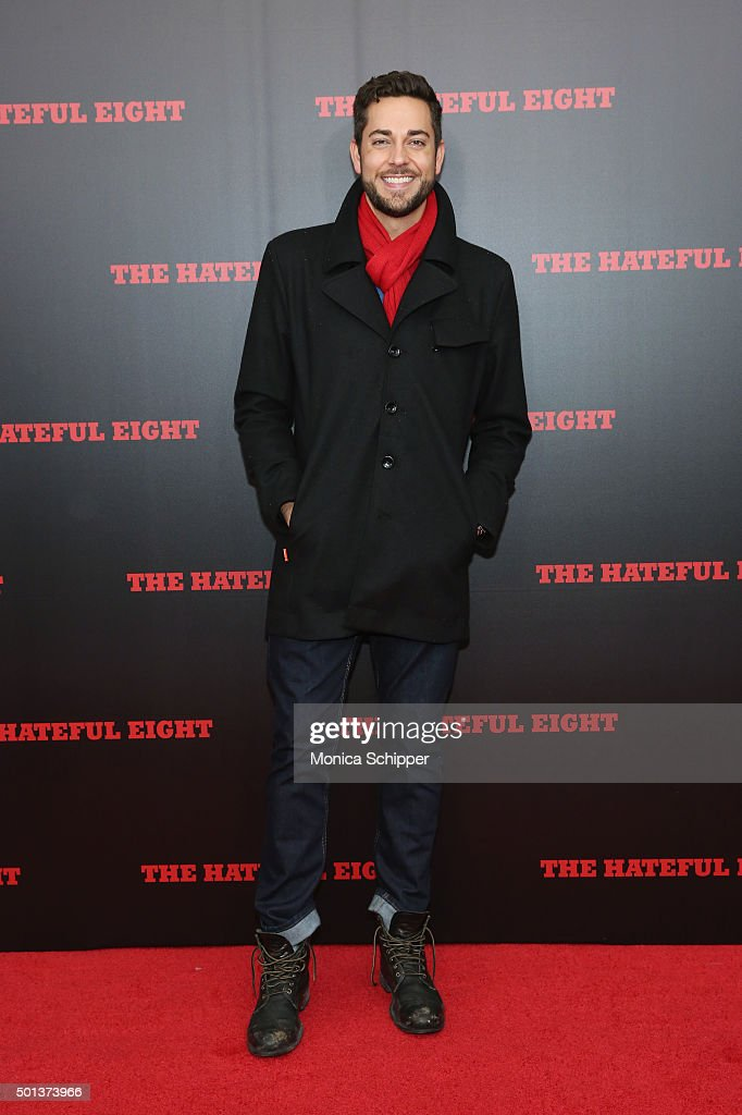 Actor Zachary Levi attends the The New York premiere Of 'The Hateful Eight' on December 14, 2015 in New York City.