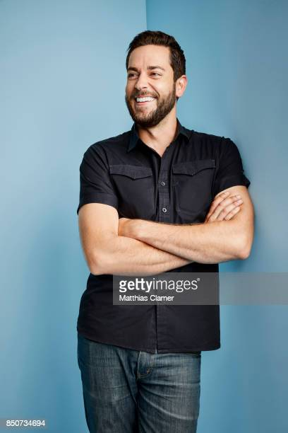 Actor Zachary Levi is photographed for Entertainment Weekly Magazine on July 20 2017 at Comic Con in San Diego California PUBLISHED IMAGE