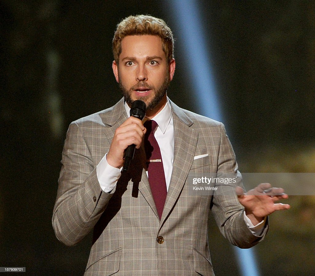 Actor Zachary Levi onstage during Spike TV's 10th annual Video Game Awards at Sony Studios on December 7, 2012 in Culver City, California.