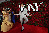 Actor Zachary Levi poses for a photo at the Nordstrom photo booth at the 70th Annual Tony Awards at The Beacon Theatre on June 12 2016 in New York...