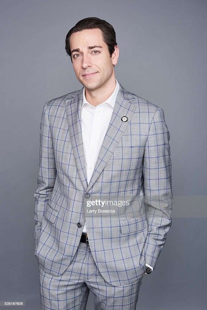 Actor <a gi-track='captionPersonalityLinkClicked' href=/galleries/search?phrase=Zachary+Levi&family=editorial&specificpeople=242766 ng-click='$event.stopPropagation()'>Zachary Levi</a> poses for a portrait at the 2016 Tony Awards Meet The Nominees Press Reception on May 4, 2016 in New York City.