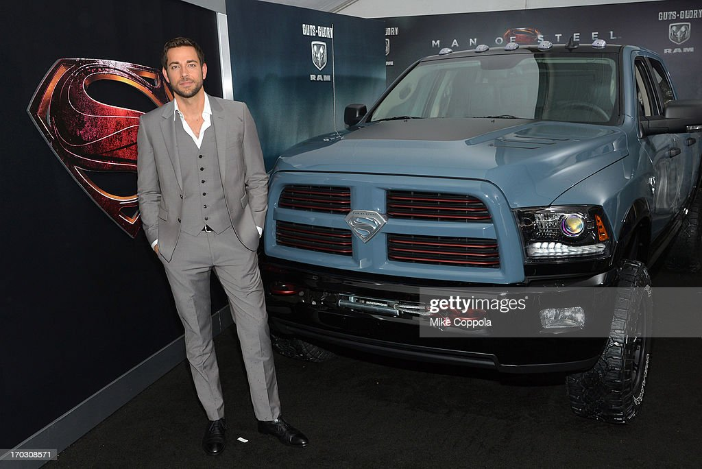 Actor Zachary Levy attends the 'Man of Steel' NYC premiere sponsored by RAM at Alice Tully Hall at Lincoln Center on June 10, 2013 in New York City.