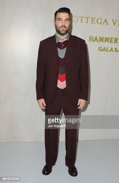 Actor Zachary Quinto arrives at the Hammer Museum Gala In The Garden at Hammer Museum on October 14 2017 in Westwood California