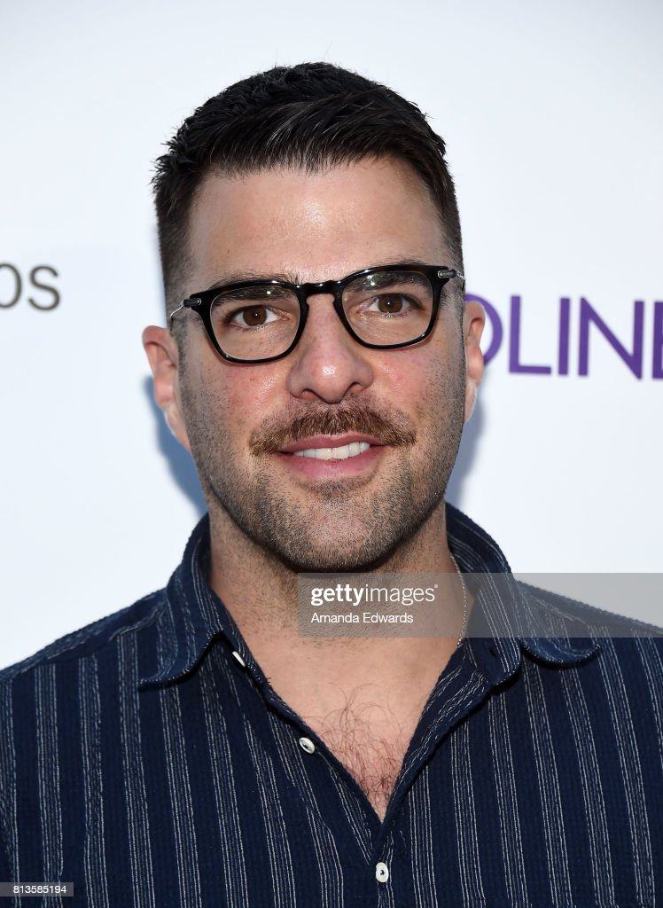 Actor Zachary Quinto arrives at the premiere of Amazon Studios' 'Landline' at the ArcLight Hollywood on July 12, 2017 in Hollywood, California.