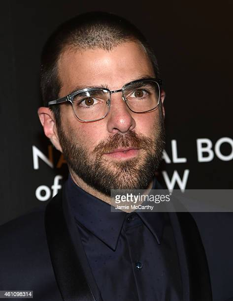 Actor Zachary Quinto attends the 2014 National Board of Review Gala at Cipriani 42nd Street on January 6 2015 in New York City