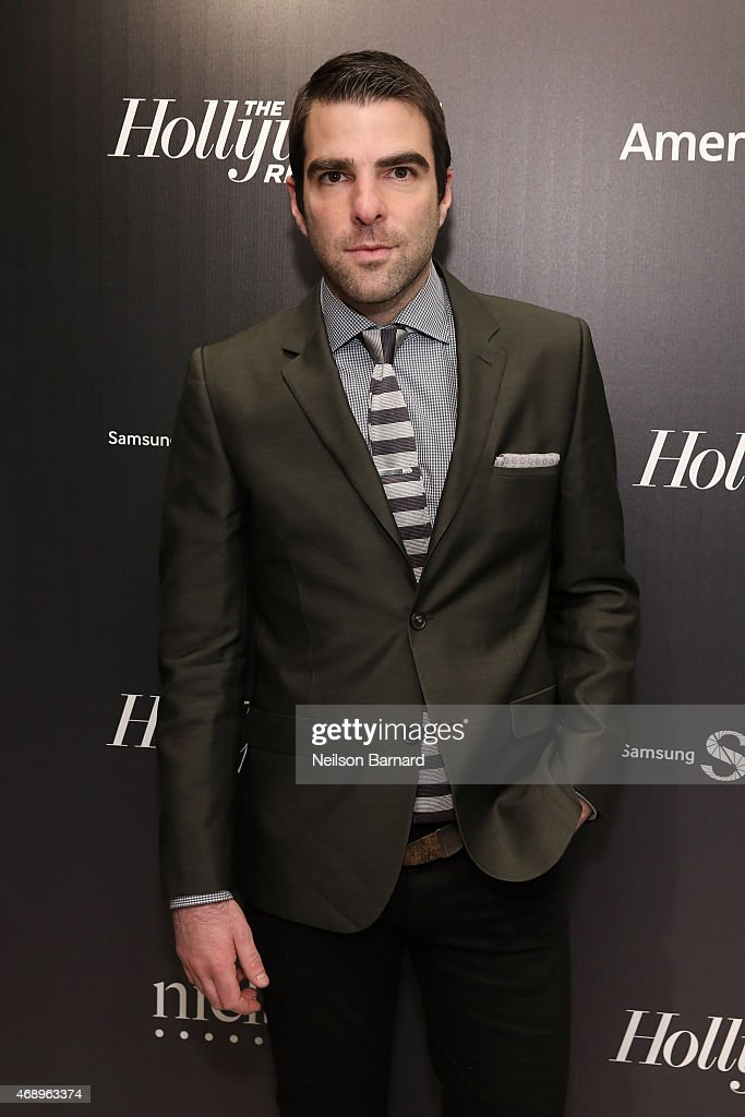 Actor <a gi-track='captionPersonalityLinkClicked' href=/galleries/search?phrase=Zachary+Quinto&family=editorial&specificpeople=715956 ng-click='$event.stopPropagation()'>Zachary Quinto</a> attends 'The 35 Most Powerful People In Media' celebrated by The Hollywoood Reporter at Four Seasons Restaurant on April 8, 2015 in New York City.