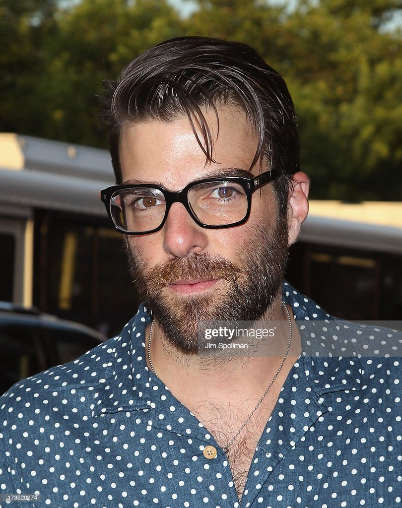 Actor Zachary Quinto attends the Lionsgate And Roadside Attractions With The Cinema Society Screening Of 'Girl Most Likely' at Landmark's Sunshine Cinema on July 15, 2013 in New York City.