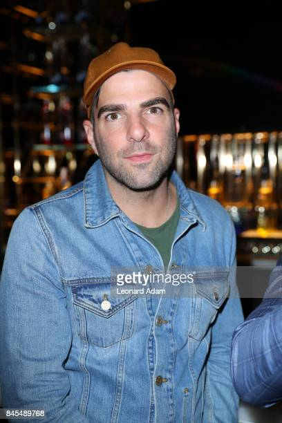 Actor Zachary Quinto attends the 'mother' party at The 2017 Toronto International Film Festival at Bisha Hotel Residences on September 10 2017 in...