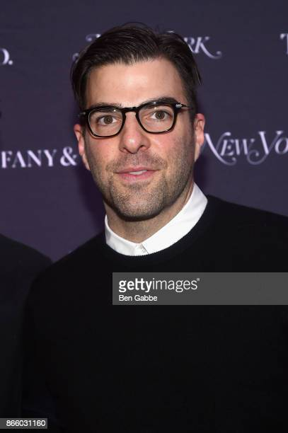 Actor Zachary Quinto attends the New York Magazine 50th Anniversary Party at Katz's Delicatessen on October 24 2017 in New York City