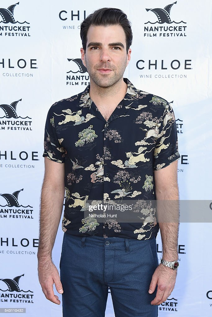 Actor Zachary Quinto attends the Screenwriters Tribute at the 2016 Nantucket Film Festival Day 4 on June 25, 2016 in Nantucket, Massachusetts.