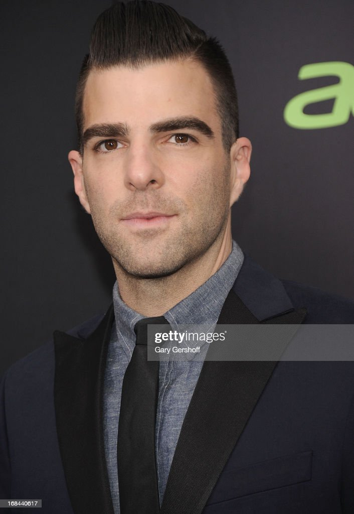 Actor Zachary Quinto attends the 'Star Trek Into Darkness' screening at AMC Loews Lincoln Square on May 9, 2013 in New York City.