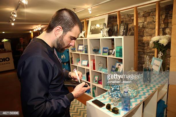 Actor Zachary Quinto attends the The Variety Studio At Sundance Presented By Dockers on January 25 2015 in Park City Utah