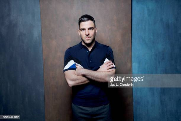 Actor Zachary Quinto from the film 'Who We are Now' poses for a portrait at the 2017 Toronto International Film Festival for Los Angeles Times on...