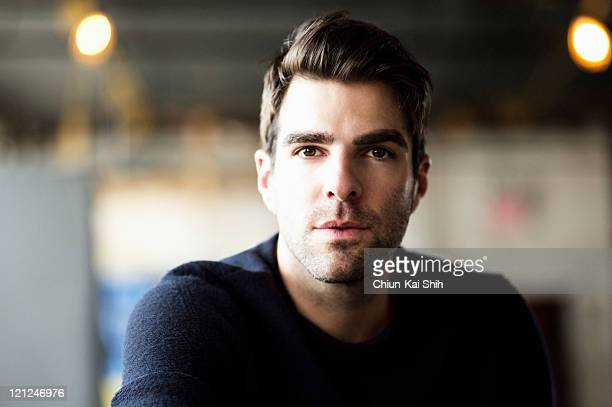 Actor Zachary Quinto is photographed for August Man on June 9 2011 in New York City