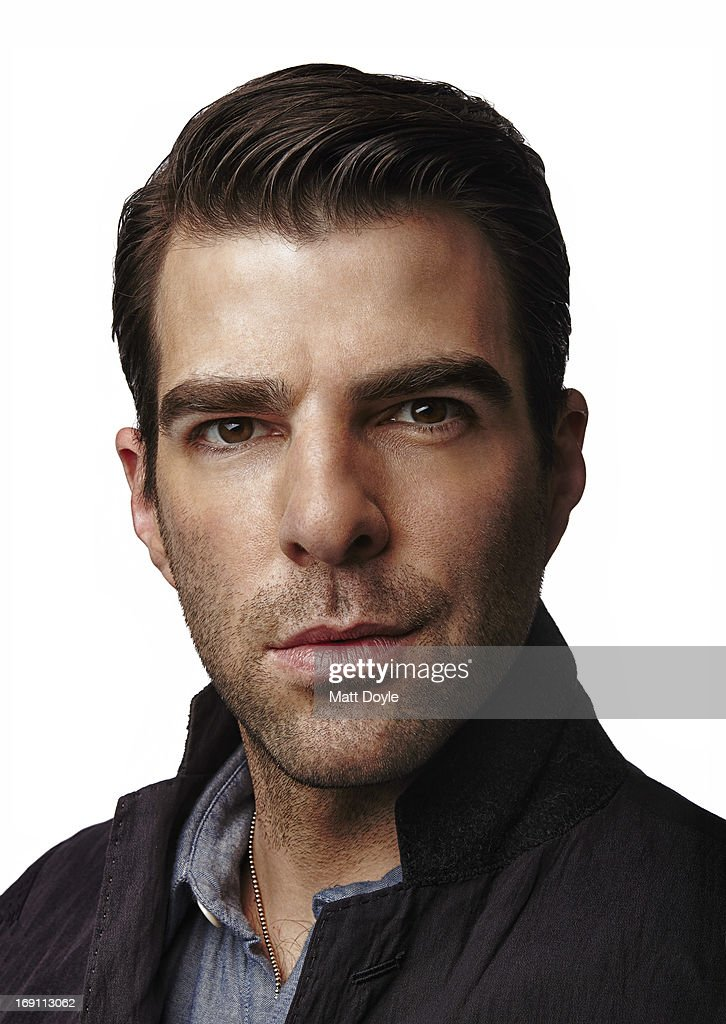Actor <a gi-track='captionPersonalityLinkClicked' href=/galleries/search?phrase=Zachary+Quinto&family=editorial&specificpeople=715956 ng-click='$event.stopPropagation()'>Zachary Quinto</a> is photographed for Back Stage on April 10, 2013 in New York City.