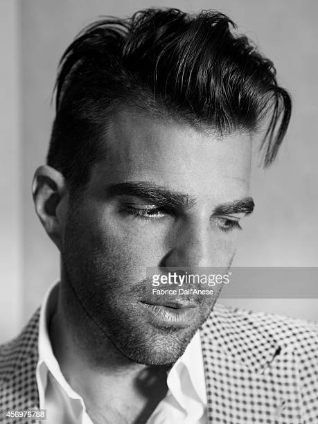 Actor Zachary Quinto is photographed for Vanity Fair Italy in Cannes France
