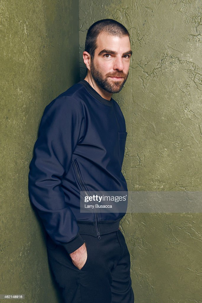 Actor <a gi-track='captionPersonalityLinkClicked' href=/galleries/search?phrase=Zachary+Quinto&family=editorial&specificpeople=715956 ng-click='$event.stopPropagation()'>Zachary Quinto</a> of 'I Am Michael' poses for a portrait at the Village at the Lift Presented by McDonald's McCafe during the 2015 Sundance Film Festival on January 25, 2015 in Park City, Utah.