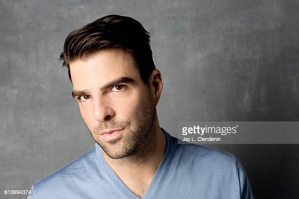 Actor Zachary Quinto of the film 'Snowden' poses for a portraits at the Toronto International Film Festival for Los Angeles Times on September 9 2016...